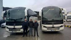 MGC adquiere dos autobuses SC7 de Sunsundegui