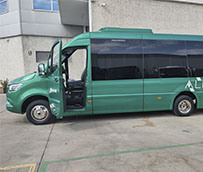 Anpian, S.A amplía su flota con un microbús Mercedes Panelvan para el interurbano
