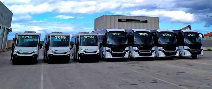 Siete nuevos minibuses de Indcar para Palermo