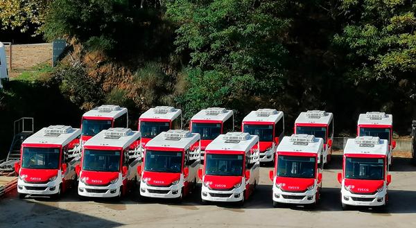 Indcar se adjudica el mayor concurso de minibuses urbanos de Europa