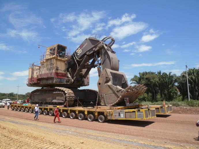 Montejo-Goldhofer, asociación para transporte de maquinaria pesada