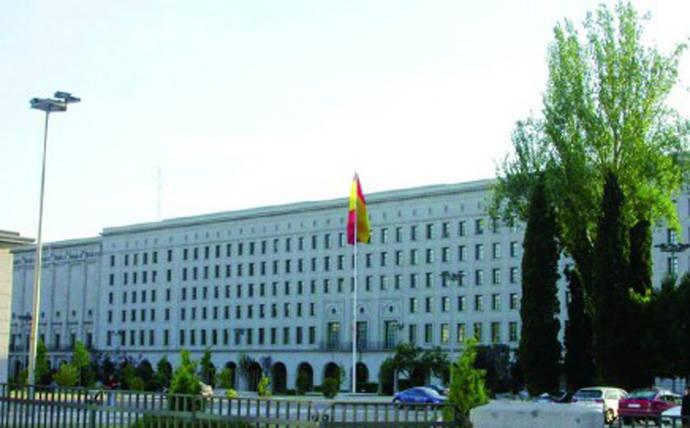 Edificio del Ministerio de Fomento, lugar donde aconteció la reunión.