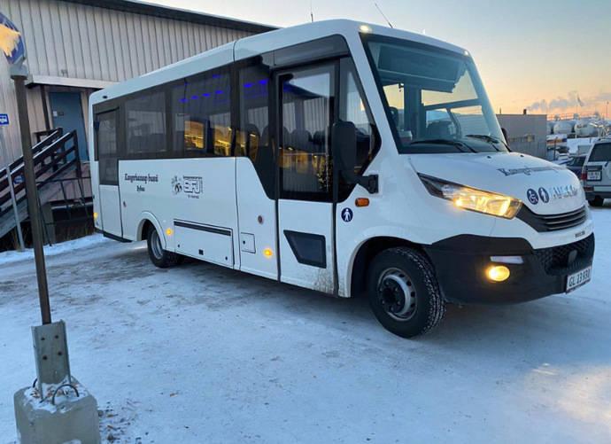 Un Indcar Mobi da servicio en Groenlandia