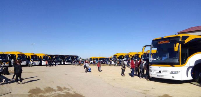 Monbus finaliza con éxito el transporte del Viña Rock