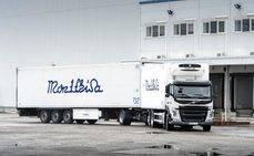 Comprados cuatro megacamiones de Volvo por Montfrisa