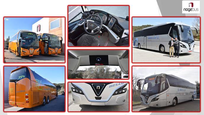 Nogebus proporciona dos autobuses a Oscar Díaz y uno a Autocares Bello