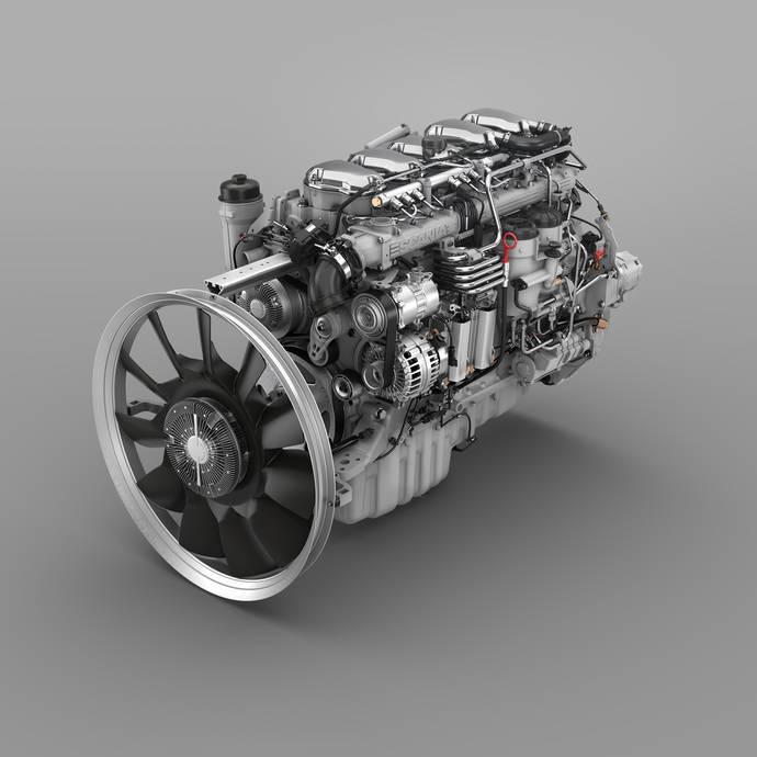 Los motores actualizados de Scania ahorran hasta un 2% de combustible