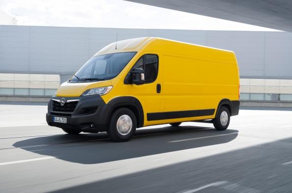 100% eléctrico: el Movano-e completa la electrificación de vehículos comerciales ligeros de Opel