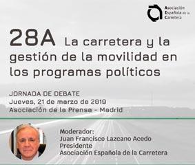 PSOE, PP, Ciudadanos y Podemos debaten sobre movilidad