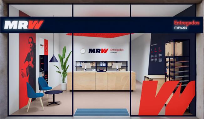 MRW renueva sus oficinas con un nuevo concepto de franquicia