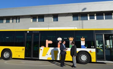 Reorganización de los horarios de los autobuses de Murcia