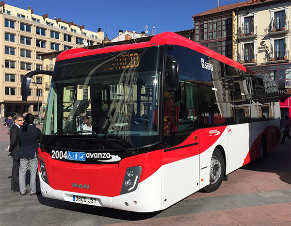 El transporte urbano de Soria cierra el año 2016 con 367.122 viajes