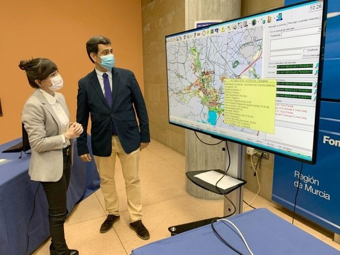 La 'tecnología inteligente', el futuro del transporte público de Murcia