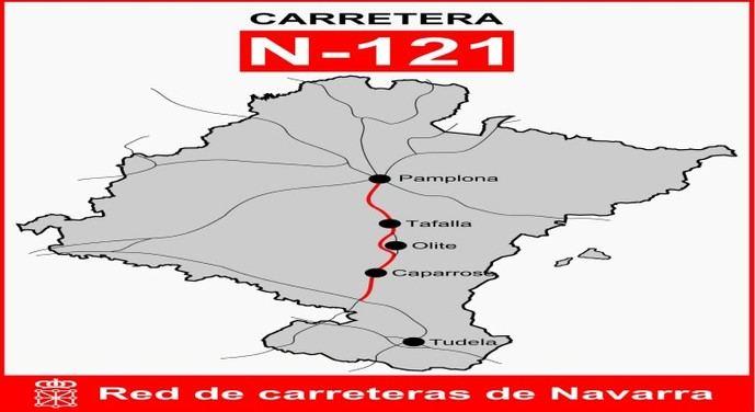 Navarra estudia prohibir la N121 a camiones en fin de semana