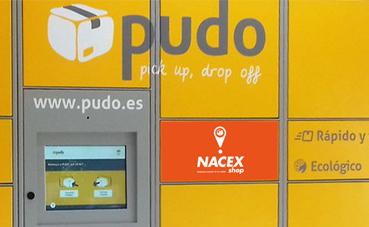 Las taquillas inteligentes de Pudo llegan a Nacex.shop