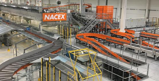 Nacex estrena su nueva plataforma 'cross-docking' en Coslada