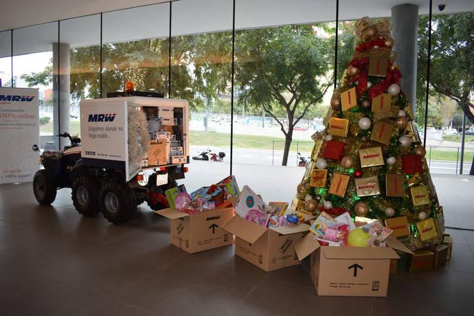 Récord histórico de envíos gestionados de MRW en la campaña de Navidad