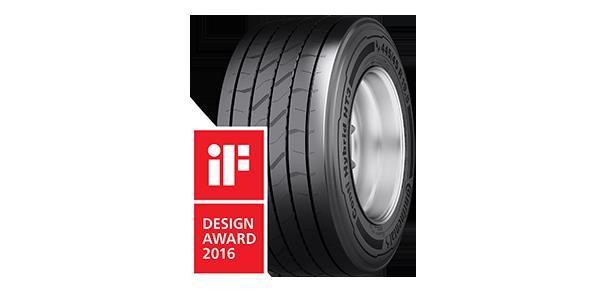 El neumático para remolques Conti Hybrid HT3 logra el premio iF Design