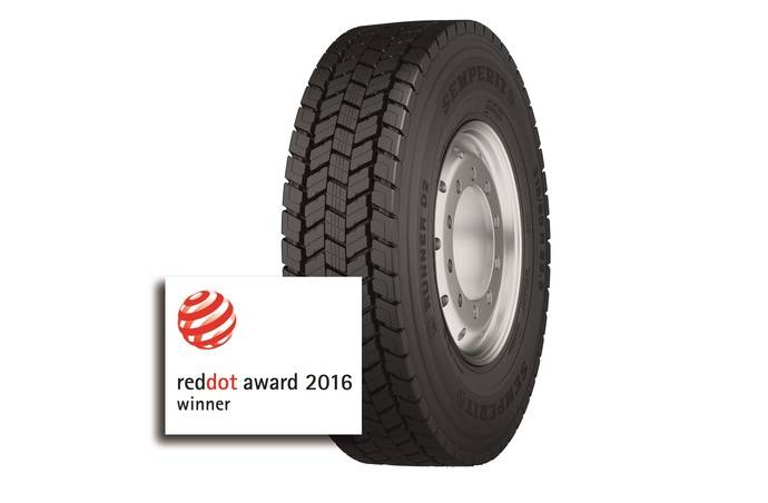 El Semperit Runner D2 recibe el premio de diseño Red Dot