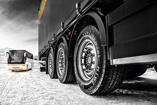 Continental, sobre el uso de neumáticos de invierno