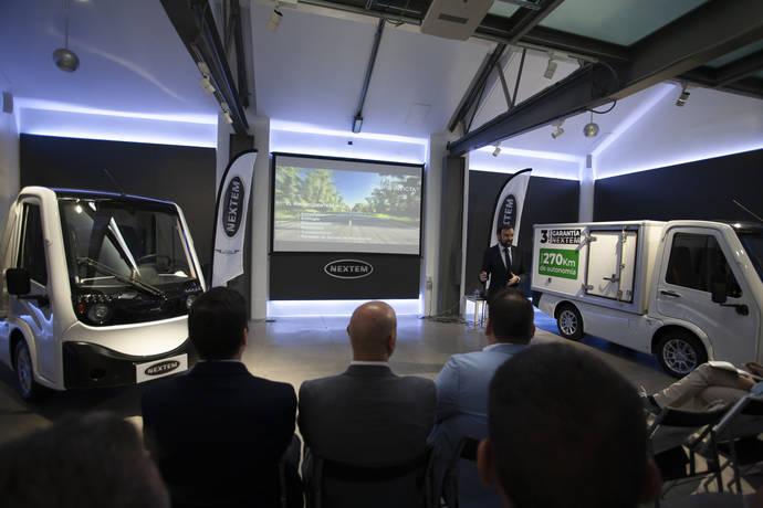 Nextem presenta Metro, vehículo industrial eléctrico del futuro