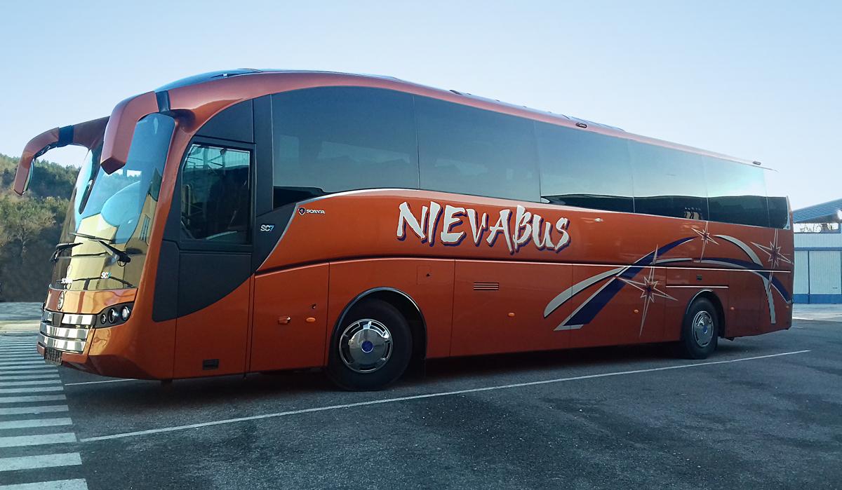 Nievabus amplía su flota con el SC7 de Sunsundegui