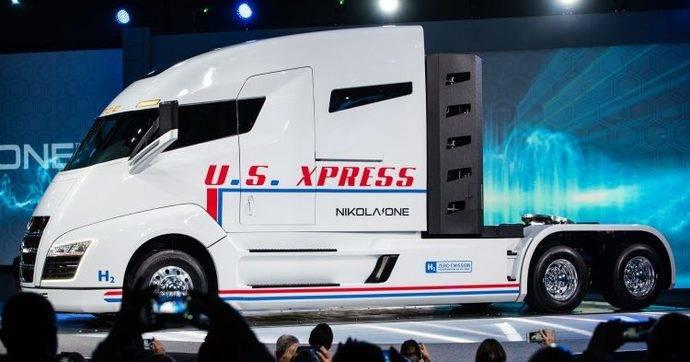 El nuevo camión de hidrógeno de Nikola, que saldrá en 2020, ha recibido ya 8.000 reservas