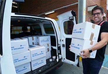 Nissan participa en la campaña de recogida de alimentos