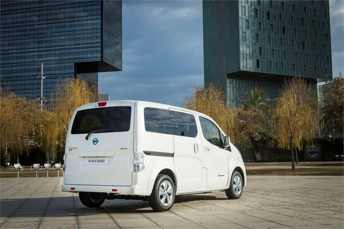 Récord de matriculaciones de la furgoneta Nissan e-NV200 en España