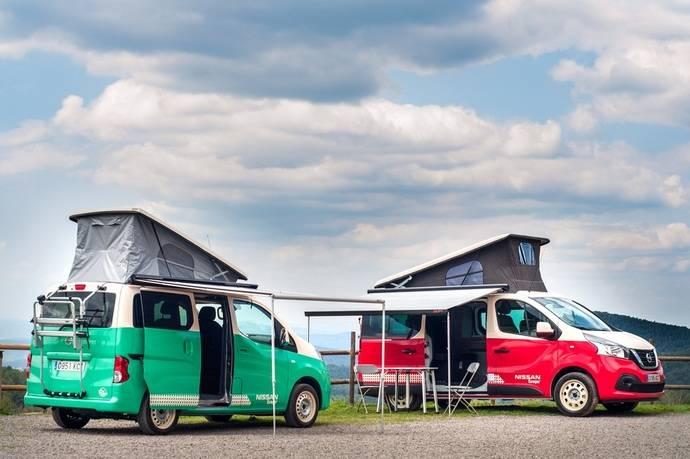 El verano es el mejor momento para disfrutar de la Nissan Camper