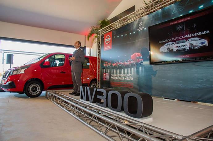 Un momento de la presentación de la estrategia de Nissan en el canal empresas.
