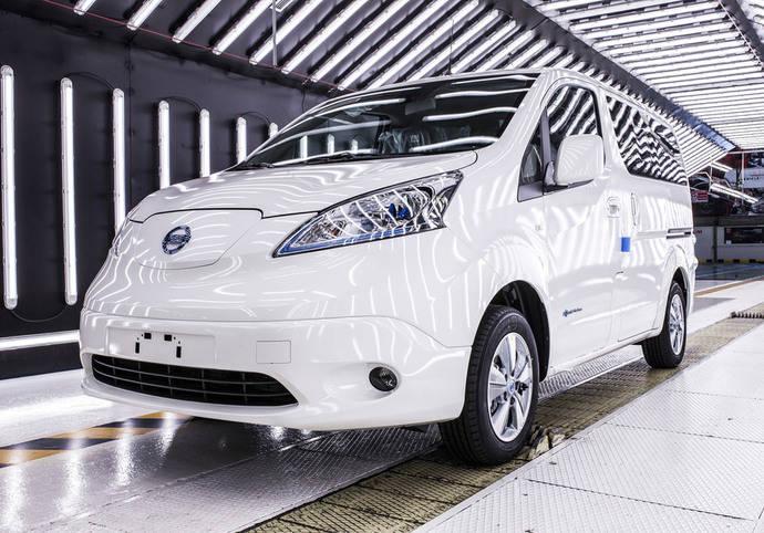 Nissan anuncia un aumento de la producción de la e-NV200