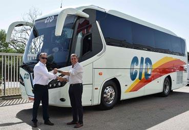 Nogebus hace entrega de un Euro6 a Autocares Cid