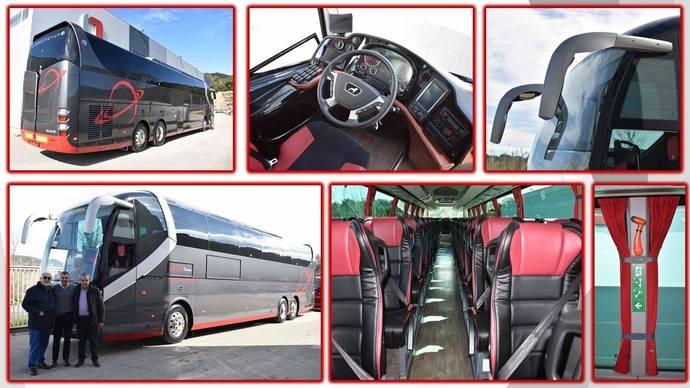 El nuevo autocar de Elite Touring.