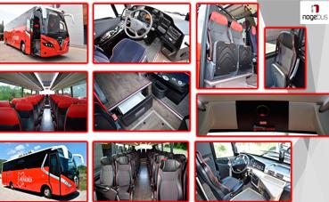 Nogebus entrega dos vehículos a Autocars Penedès