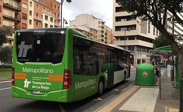 La Rioja restablece el servicio de transporte con el horario de verano