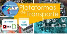 Aeutransmer Meeting Point: 'Plataformas de Transporte - Impacto del Coronavirus'.