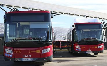 Tussam continúa con la renovación de su flota de autobuses