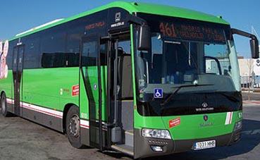 Madrid refuerza la línea 6 de autobús urbano de Móstoles de Guadarrama