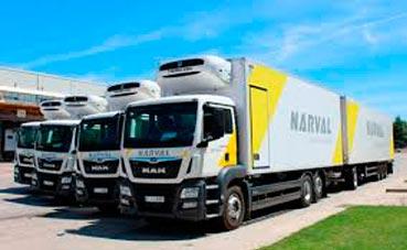 Narval pone en marcha la entrega en domicilio a temperatura