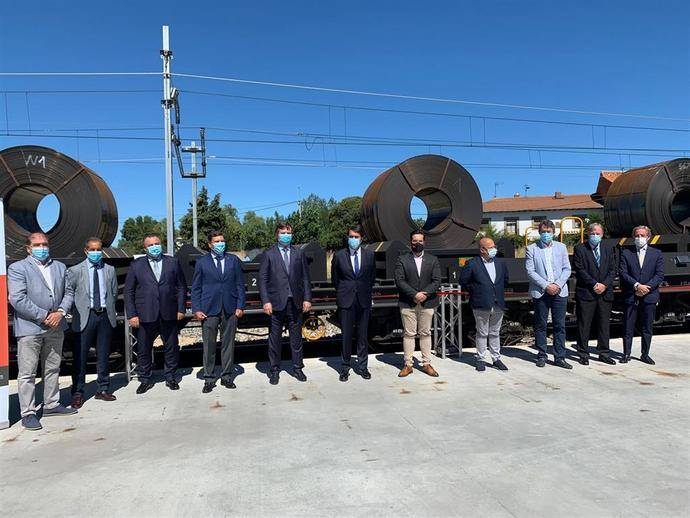 NSR recibirá 25.000 Tn de acero para el proyecto siderúrgico