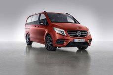 Nuevo vehículo de la Clase V de Mercedes.