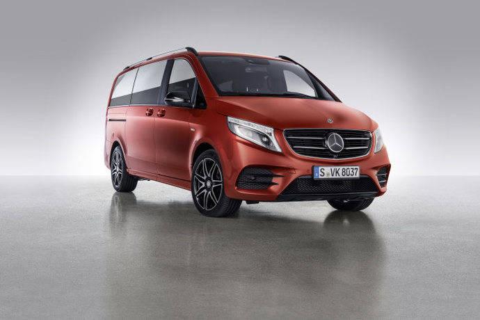 Mercedes-Benz Vans presenta dos nuevos modelos de furgonetas de su Clase V