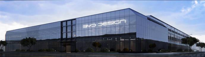 El nuevo centro de diseño de BYD.