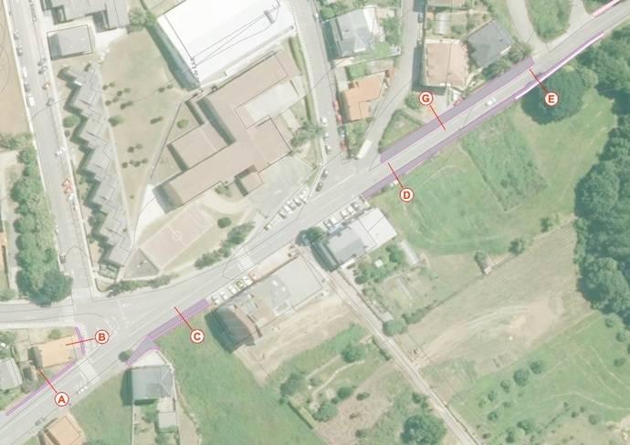 La Xunta de Galicia adjudica las obras de mejora de movilidad y seguridad vial en la avenida de Anllóns, en Ponteceso