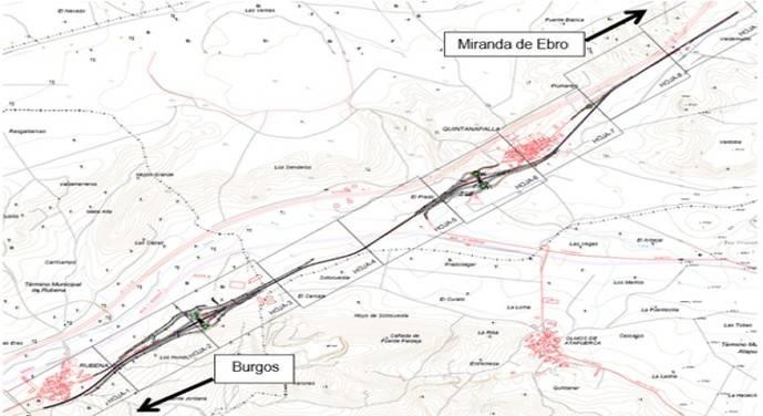 Obras en la N-1 (Atapuerca, Burgos) hasta el 23 de agosto