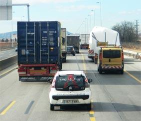 La actividad del transporte se recupera, pero es menor respecto al año pasado