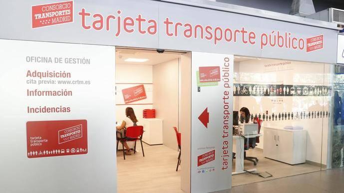 Madrid reabre las oficinas de gestión de la Tarjeta de Transporte Público