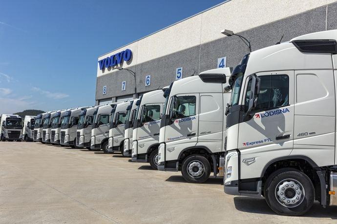 El nuevo Volvo FH se une a la flota del grupo empresarial Lodisna