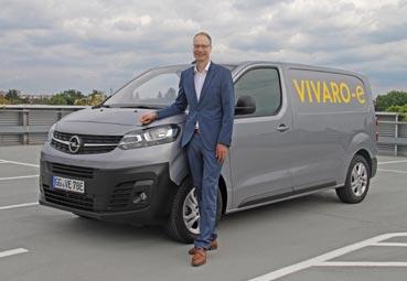 Opel anuncia la llegada del Movano eléctrico para 2021